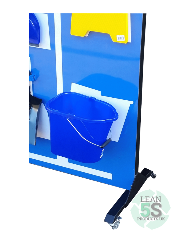 Mobile Cleaning Station for 5S Lean 5S Products UK