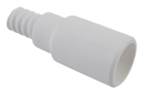 Vikan Adapter, Ø25 mm, 85 mm, White