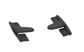 Vikan End piece for superior Mop frame, 90 mm, Black
