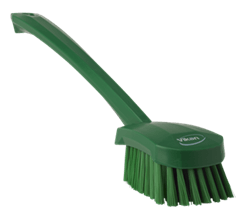 Vikan Washing Brush with long handle, 415 mm, Medium Lean 5S Products UK