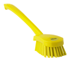 Vikan Washing Brush with long handle, 415 mm, Hard Lean 5S Products UK