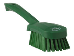 Vikan Washing Brush with short Handle, 270 mm, Medium Lean 5S Products UK
