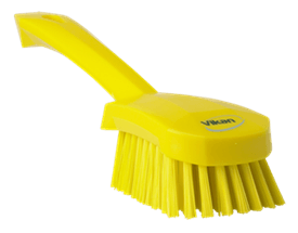 Vikan Washing Brush with short Handle, 270 mm, Hard Lean 5S Products UK
