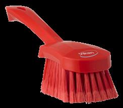 Vikan Washing Brush with short handle, 270 mm, Soft/split