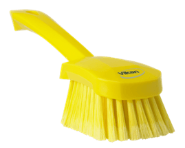 Vikan Washing Brush with short handle, 270 mm, Soft/split Lean 5S Products UK