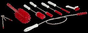 Vikan Brush Kit f/Softice Machines