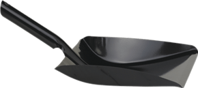 Vikan Dustpan metal, 245 mm, Black
