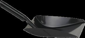 Vikan Dustpan metal, 245 mm, Black