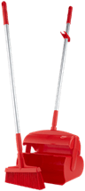 Vikan Dustpan set, closable with broom, 370 mm Lean 5S Products UK