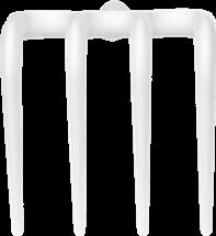 Vikan Hygiene Rake, 205 mm, White