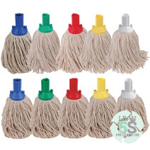 Colour Coded Mop and Bucket set Lean 5S Products UK