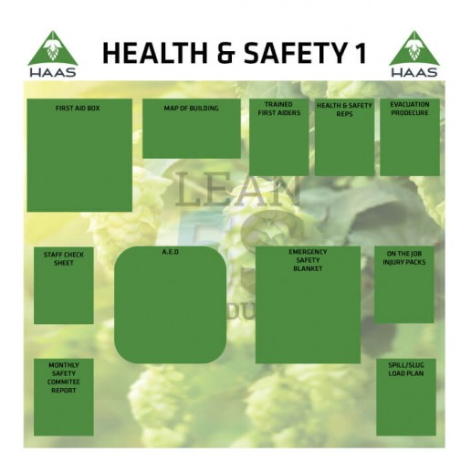 Production Boards Lean 5S Products UK