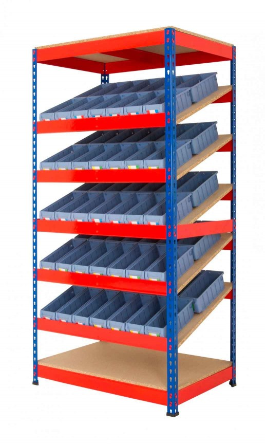Kanban Racking Systems Lean 5S Products UK