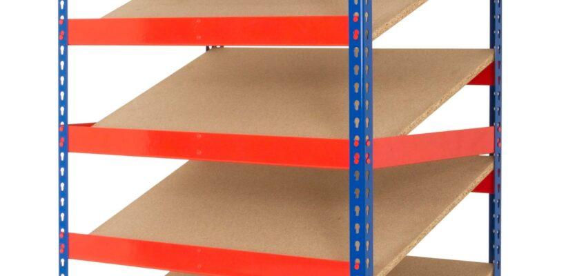 Kanban Shelving with 5 Sloping Shelves