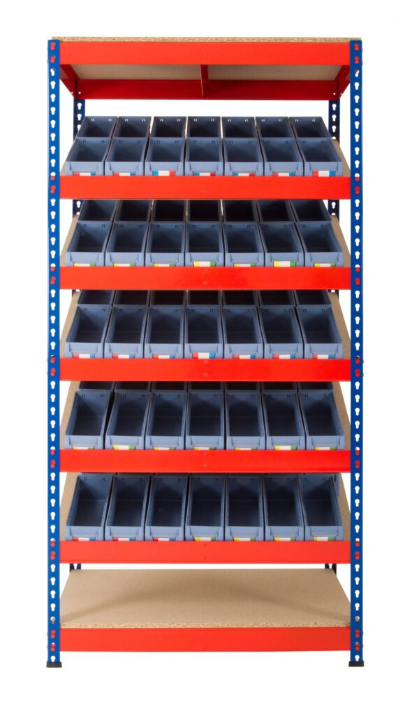 Kanban Shelving with Shelf Trays Lean 5S Products UK