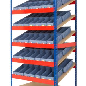 Kanban Shelving with Picking Bins Lean 5S Products UK