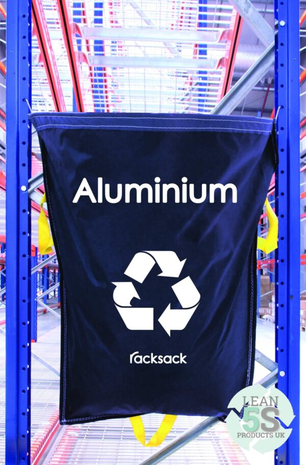 RackSack Blue. Waste Management Organisation tool Lean 5S Products UK