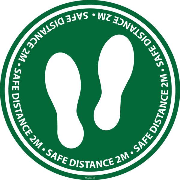 Social Distancing Floor Marker (Standard) Lean 5S Products UK