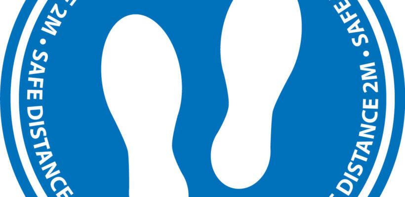 Social Distancing Floor Marker (Standard)