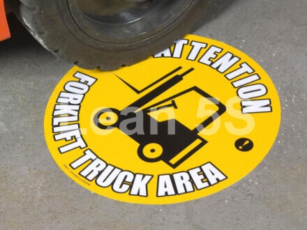 5S Floor Markers & Safety Signs