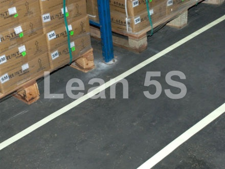 5S Photo-luminescent Floor marking Lean 5S Products UK