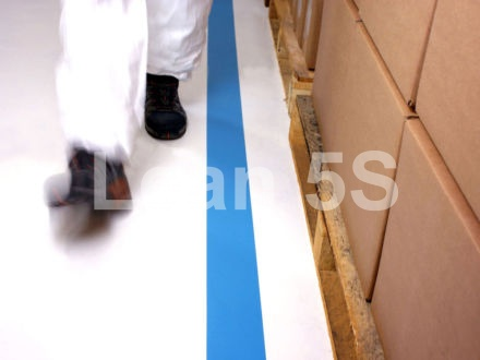 5S Floor Marking Tape LeanLine Industrial Lean 5S Products UK