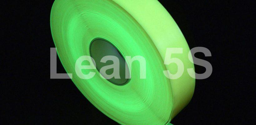 5S Photo-luminescent Floor marking