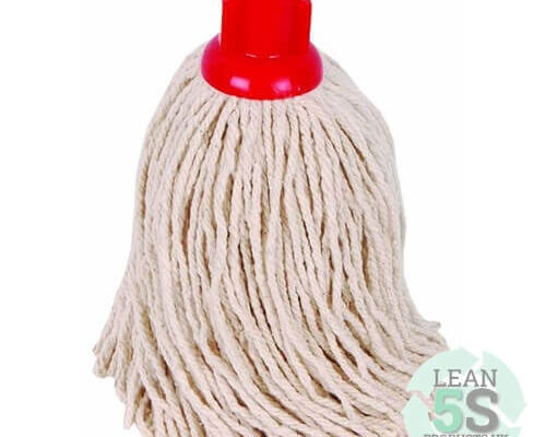 Colour Coded Mop and Bucket set