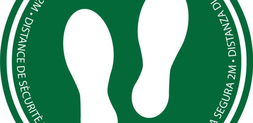 Social Distancing Floor Marker (Industrial)