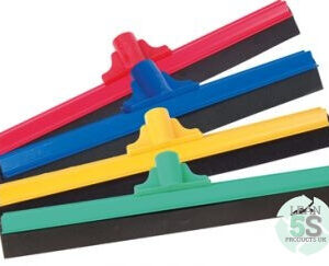 Vikan Floor Squeegee, 400 mm, Black Lean 5S Products UK