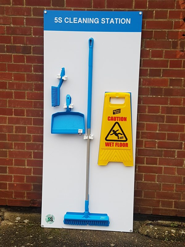 Food Grade Cleaning Station - Vikan Fully stocked Medium Lean 5S Products UK