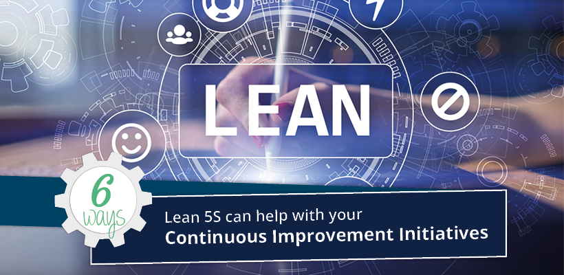 Six ways Lean 5S shadow boards will help improve your continuous improvement initiative