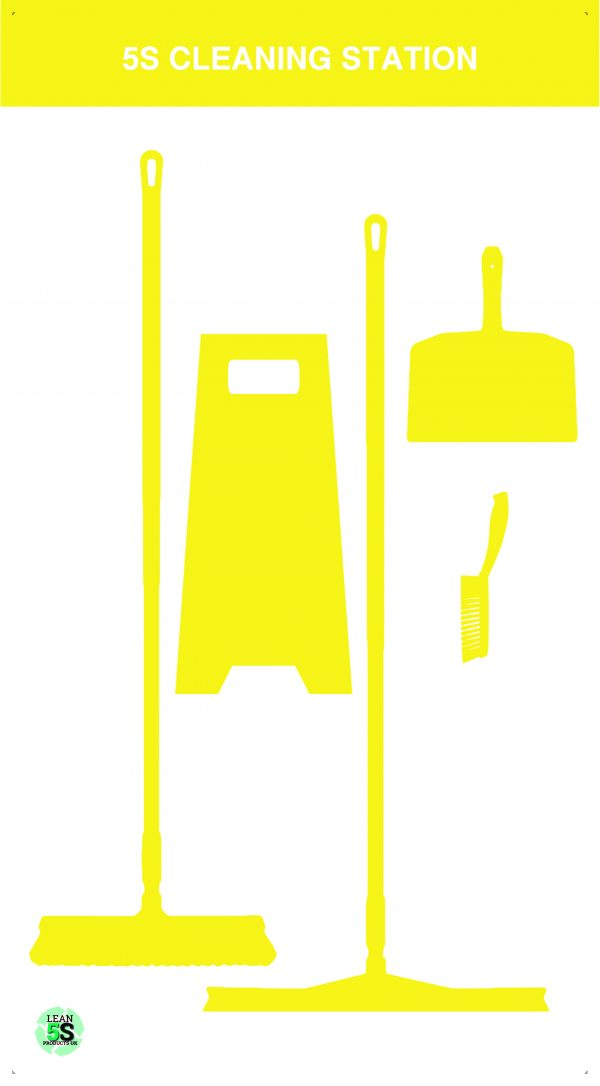 Food Grade Cleaning Station - Vikan Fully stocked Large Lean 5S Products UK